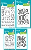 Lawn Fawn - Special Delivery with Box Add-on Stamp and Die Sets - 4 Items