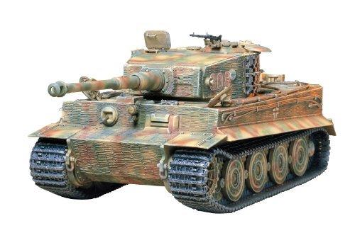 Tamiya 300035146 - Modellino Veicolo Speciale a Motore della II Guerra Mondiale 181 VI Tiger I E, Scala 1:35