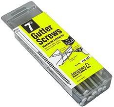"#14 x 7/"" BROWN Colored painted gutter screw T30 Torx Head 50 pc GUTTER SCREWS:"