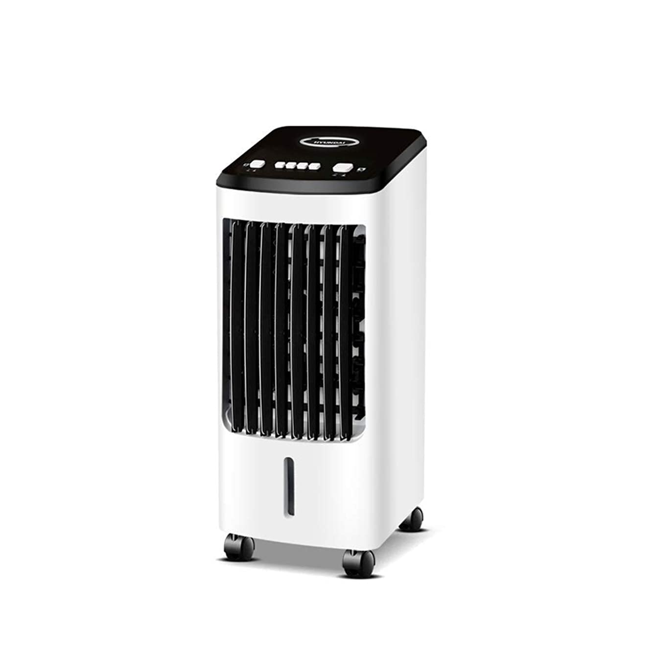 Djwoer Portable Air Cooler Fan Portable Evaporative Air Conditioner Tower Cold Air Cooler Fan Mobile Air Conditioning Remote Control Timing Mute Energy Saving (Color : White1)