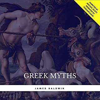 Greek Myths audiobook cover art