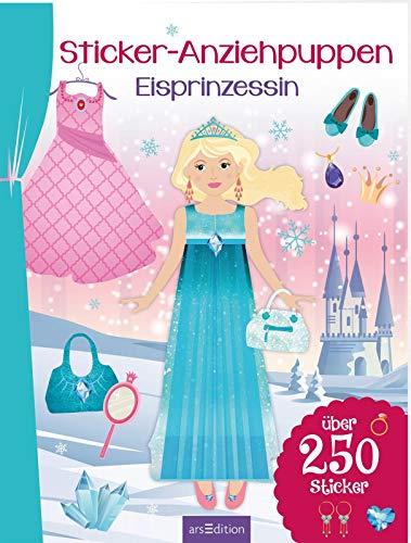 Sticker-Anziehpuppen Eisprinzessin: Über 250 Sticker   Coole Styles für Modefans ab 5 Jahren