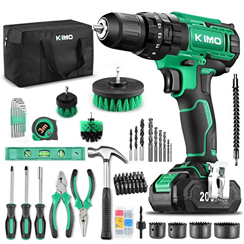 KIMO Best Cordless Drill Driver Combo Set