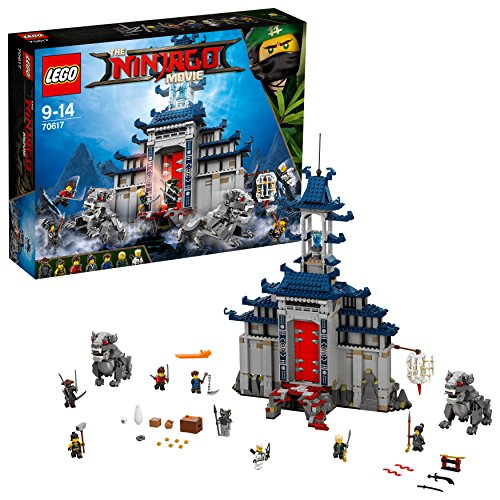 LEGO 70617 The NINJAGO Movie Bausteine, Bunt