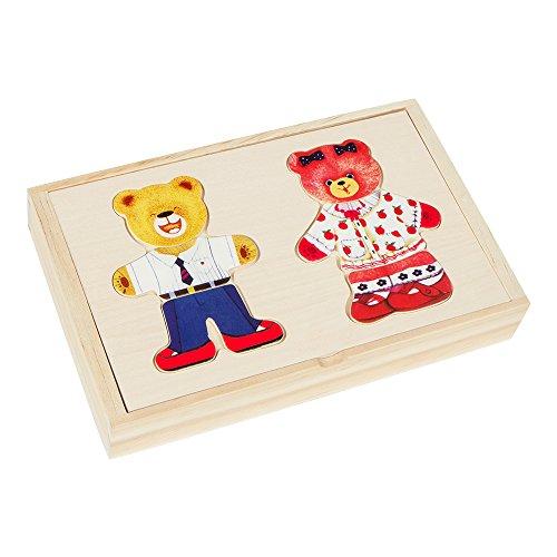 Colorbaby – houten strooisel (kleur baby beer 43604)