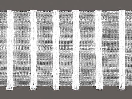 Bleistift-Faltenband 75 mm breit Zugabe 1:2