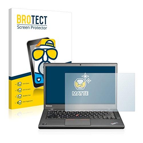 BROTECT Entspiegelungs-Schutzfolie kompatibel mit Lenovo ThinkPad T440s Non-Touch Bildschirmschutz-Folie Matt, Anti-Reflex, Anti-Fingerprint