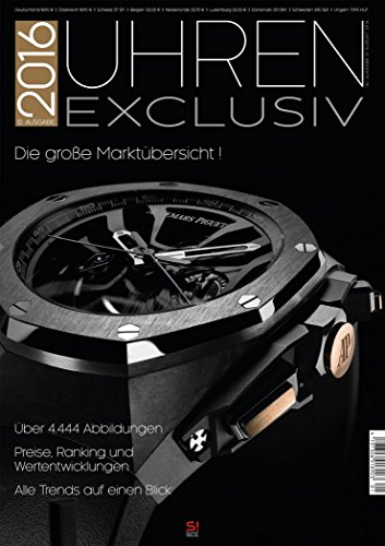 Uhren Exclusiv Uhrenkatalog Ausgabe 2016