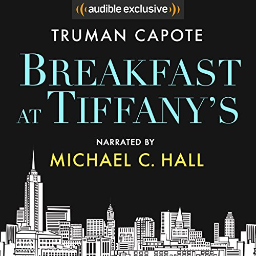 Breakfast at Tiffany's audiobook cover art