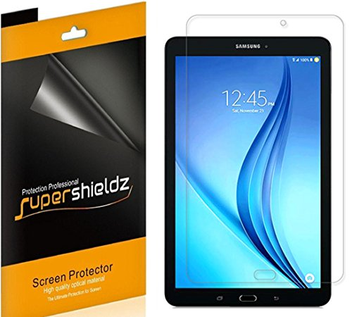 (3 Pack) Supershieldz for Samsung Galaxy Tab E 8.0 inch Screen Protector, High Definition Clear Shield (PET)