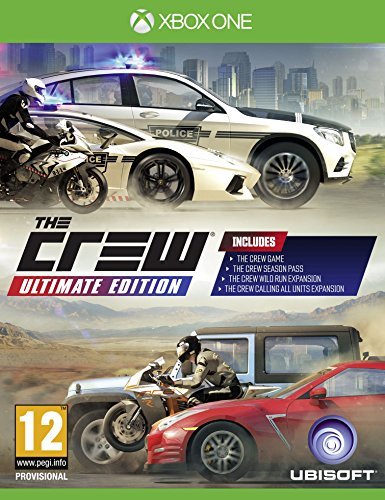 Xbox One The Crew Ultimate Edition PREOWNED
