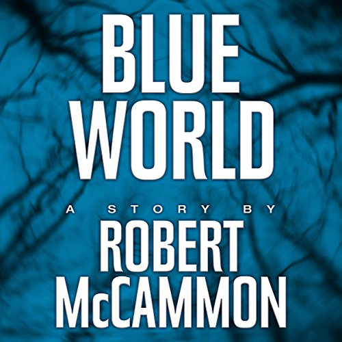Blue World audiobook cover art