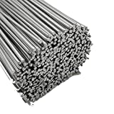 Welding Filler Rods Wire 1.6/2/2.5/3.2mm Aluminum Cored Wire Low Temperature Easy Melt Aluminum Welding Rods Diameter Cored Wire for Soldering Welding Accessories (Size : 1.6mm, Type : 10pcs)