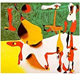 Shmjql Pintor Surrealista De España Joan Miro Póster De Lienzo Arte De La Pared Sala De Estar Dormitorio Pintura Decorativa para El Hogar Imagen-50X70Cmx1 Sin Marco