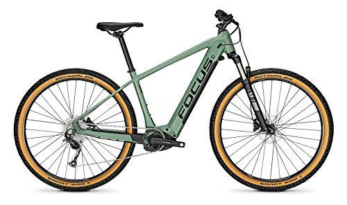 Derby Cycle Focus Jarifa² 6.7 Nine Bosch Touren & Sport Elektro Mountain Bike 2020 (L/48cm, Mineral Green)