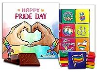 """DA CHOCOLATE キャンディ スーベニア """"LGBT """" LGBT チョコレートセット 5×5一箱 (Heart)"""
