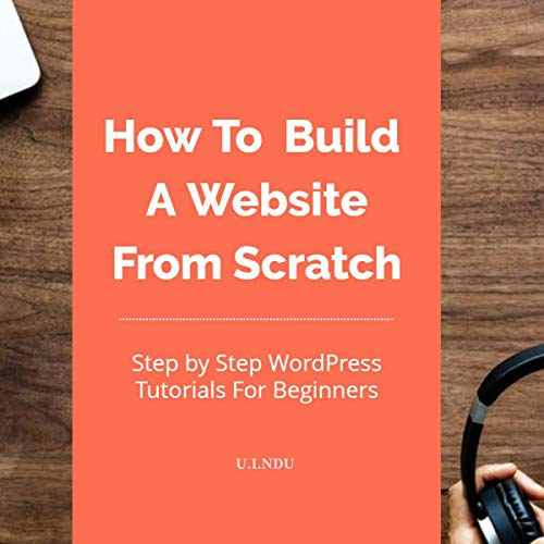 How to Build a Website from Scratch audiobook cover art