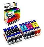 Koala10 Druckerpatronen kompatibel für HP 364XL für HP Officejet 4622 4620 HP Deskjet 3520 3070A HP Photosmart 7510 5510 5524 7520 5520 6520 5522 6510 5515 4*BK 2*C 2*M 2*Y