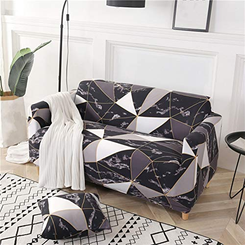 Sofahusse Sofa Slipcover Sectional Sofabezug L-Form Sofaüberwürfe Für Sofabezug Schutz Für U-Form Sofa-24 2 Seater (57-73inch)