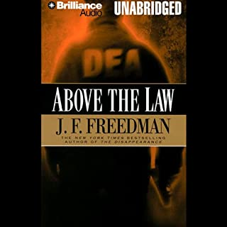 Above the Law audiobook cover art
