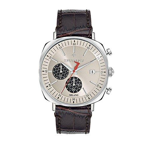 TRUSSARDI Orologio Cronografo Quarzo Uomo con Cinturino in Pelle R2471621002