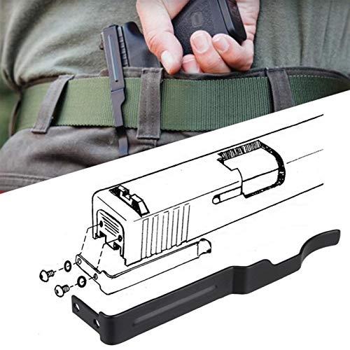 Concealed Gun Belt Clip for Glock 19 Accessories Gun Holster for Glock Slide Holster Fit for Glock 17 19 22 23 24 25 26 27 28 30S 31 32 33 34 35 36 Carry Pistol Clip