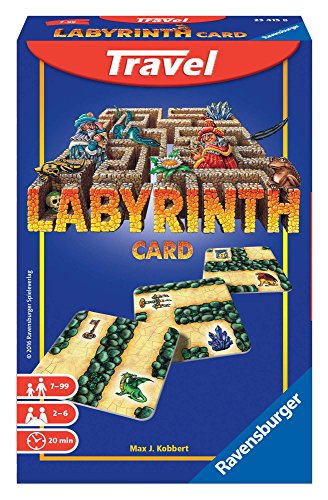 Ravensburger - Labyrinth Travel, Juego de Mesa (234158)