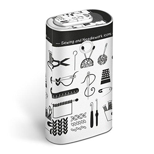 glo グロー グロウ 専用スキンシール 全面 + 天面 + 底面 360°フルセット カバー ケース 保護 フィルム ステッカー デコ アクセサリー 電子たばこ タバコ 煙草 デザイン 裁縫 道具 014157