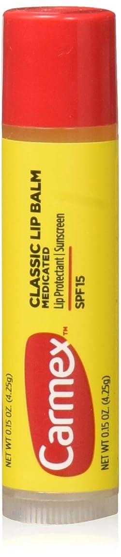 食器棚シャンパン事実Carmex Lip Moisturizing Click-Stick With Sunscreen SPF#15 Original Balm (Pack of 12) (並行輸入品)