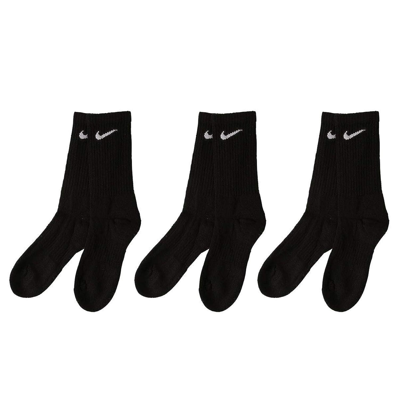 (ナイキ)NIKE EVERYDAY クルー丈 ソックス 靴下 3足組 レディース メンズ 23-25cm 25-27cm SX7664