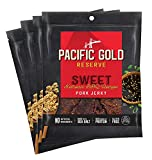 Pacific Gold Reserve Sweet Korean BBQ Pork Jerky, 2.5 Ounce (Pack of 4)