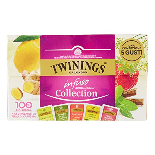 Twinings Infuso Aromatizzato Collection, 20 Buste, 36g
