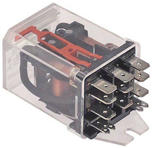 SCHRACK RM705730 Relais für Spülmaschine Sammic SL-290B, SL-350B, SL-550B, SL-550BP Anschluss F6,3 3CO 16A 230V AC 230VAC