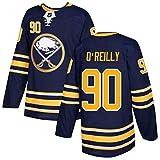 WXHJGY Camiseta de Hockey sobre Hielo NHL Hombres Manga Larga Buffalo Sabres # 90 O'Reilly # 26 Dahlin # 15# 9 Eichel Sudaderas Transpirables Bordadas Ropa de Entrenamiento Camiseta Top