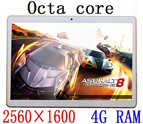2016 New 9.7 inch 8 core Octa Cores 2560X1600 IPS DDR 4GB ram 64GB 8.0MP 3G Dual sim card Wcdma+GSM Tablet PC Tablets PCS Android5.1