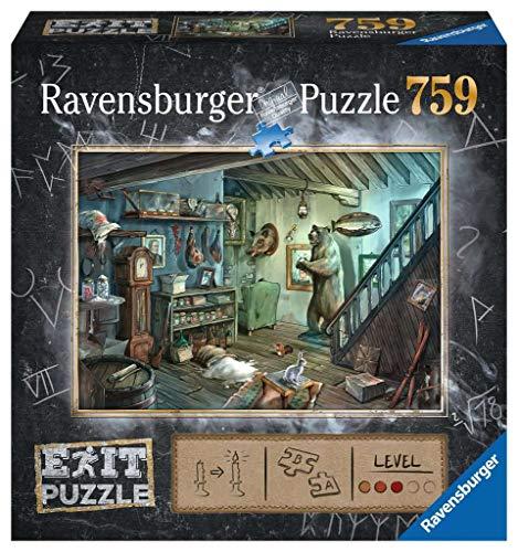 Ravensburger Puzzle 15029 - Gruselkeller 759 Teile Exit Puzzle - Premium Qualität für EXIT- begeisterte ab 12 Jahren