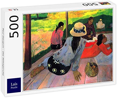 Lais Puzzle Paul Gauguin - El Descanso del mediodía 500 Piezas
