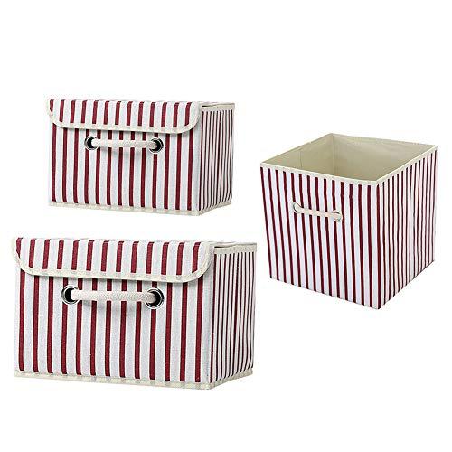 ZUOLUO Caja Almacenamiento Caja almacenaje Caja de Almacenamiento Plegable Juguete, Caja de...