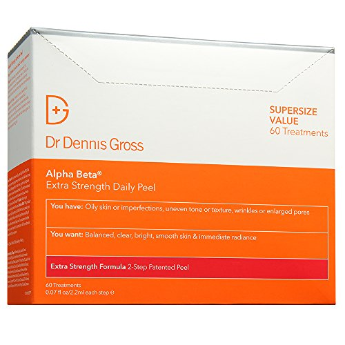 Dr. Dennis Gross Skincare Alpha Beta Peel, Extra Strength, 60 Count BOX