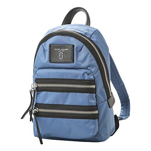 マークジェイコブス バッグ MARC JACOBS M0012702 476 NYLON BIKER バイカー MINI BACKPACK レディース リュック・バックパック 無地 VINTAGE BLUE 青 [並行輸入品]