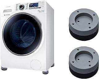 Mallalah Urisgo Patin Anti Vibration Machine à Laver 4PCS Universel Pieds Stabilisateur Piédestal pour Lave-Linge Réfrigér...