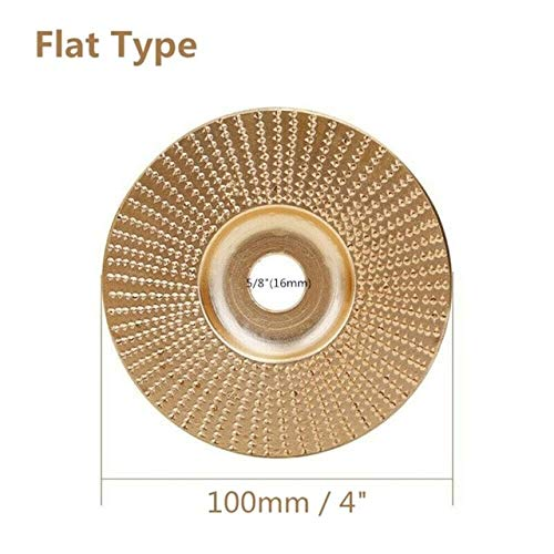 Great Deal! Xucus Grinding Angle Grinder Accessories Wood Grinding Sanding Wheel Disc Abrasive Carbi...