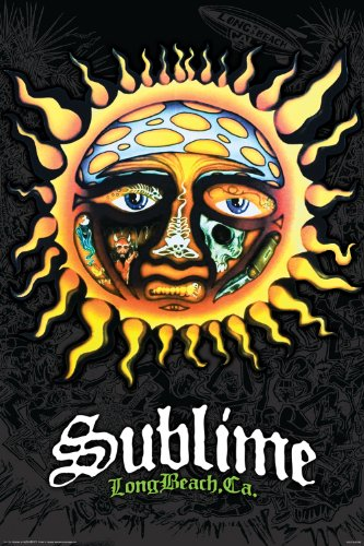 Aquarius Sublime Sun Poster, 24 by 36-Inch