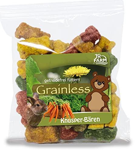 JR Farm Grainless Knusper-Bären - bunter Snack für alle Nager (Hamster, Degu, Chinchilla, Meerschweinchen, Ratte)