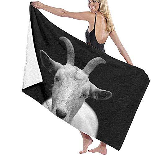 qinzuisp bad laken ontspannen ik geit kreeg deze geit humor zwart zeer sauna handdoek snel droog absorberende Thuis strand handdoek bad lakens hotel spa bad handdoeken 80x130cm