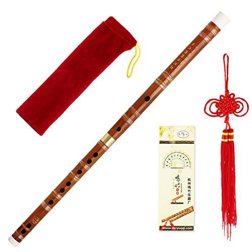 Hochwertige chinesische Bambusflöte (handgemacht, eignet sich auch für unterwegs)