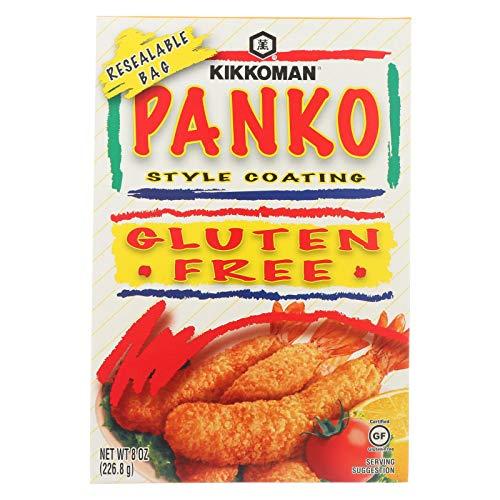Kikkoman Panko Slyte Coating Gluten Free, natural, 8 Ounce
