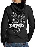Psych Pineapple Adult Womens Fall Hoodie Sweatshirts
