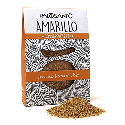 Virutas de Palo Santo - Variedad Amarillo 80 Gr - Incienso Natural y Original de Calidad chamánica,...