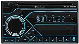 Planet Audio PB475RGB Car Stereo - Double Din, Bluetooth, CD/MP3/USB AM/FM Radio, Multi Color RGB Illumination, Wireless Remote